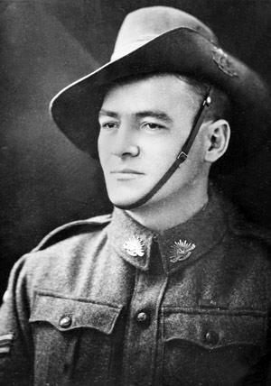 Jørgen Chr. Jensen som soldat i den australske hær. (foto: South Australian Library)