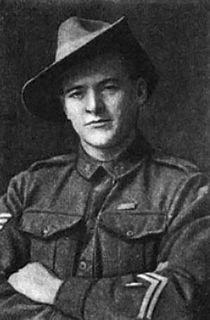 Jørgen Jensen som soldat i den australske hær
