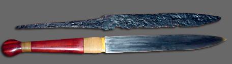 Vikingkniv (foto: fra Wikipedia)