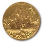 Medalje til minde om Slaget i Køge Bugt 1677