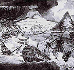 """""""Oldenborg"""" bliver slået til vrag i Tafelbay"""