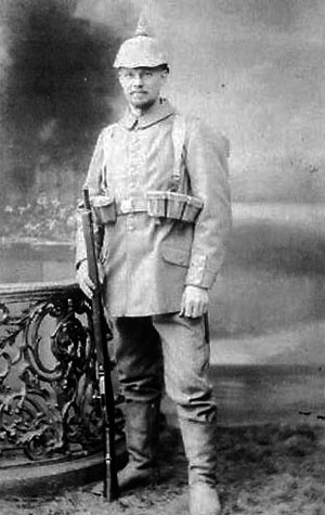 Ukendt Sønderjyde i tysk uniform