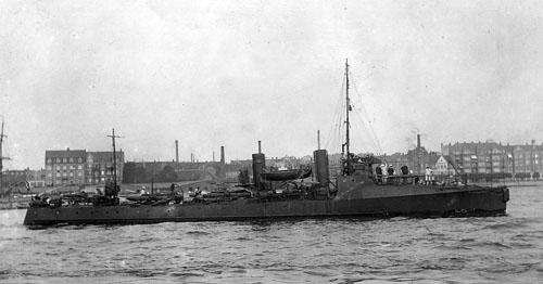 "Torpedobåden ""Sværfisken"". (foto: Orlogsmuseet)"