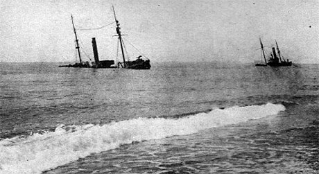 "De armerede tyske Trawlerene ""Heinrich Bruns"" og ""Crefeld"" (Marinens Bibliotek)"