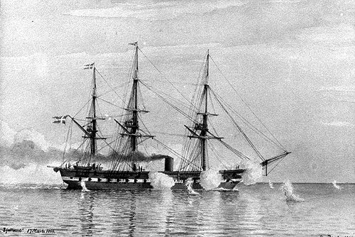 SJÆLLAND 1858 (photo: Orlogsmuseets collection)