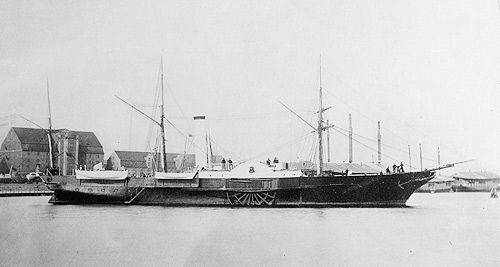 The SLESVIG (photo: Orlogsmuseets collection