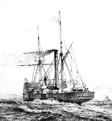 ÆGIR (photo: Orlogsmuseets collection)