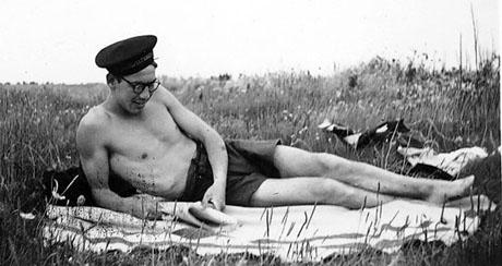 Så afslappet gik vi rondevagt på Fynshoved i sommeren 1945