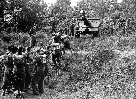 Soldater fra Brigaden på øvelse