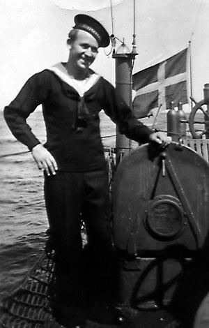 Karl Christensen om bord på Nordkaperen