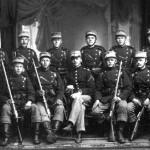 Soldater fra sikringsstyrken ca. 1915. (foto fra Jens Nordlunde)