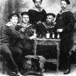 Kresten Bach Christensen - second sailor from the left