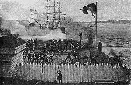 Kampen ved Eckernförde i Treårskrigen