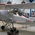 Tigermouth på Teknisk Museum i Helsingør. Den ses her i den civile udgave. Den er skænket til museet efter et havari i 1996 og restaureret af frivillige