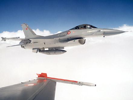 F-16 Fightning Falcon (foto: Forsvaret)
