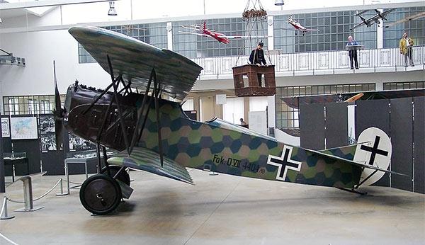 Fokker D VII på Münchens Deutsches Museum