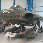 Saab F35 Draken på Teknisk Museum i Helsingør (foto: Gert Laursen)