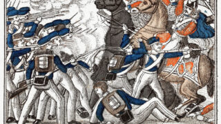 Danske dragoner i kamp - slesvigske krige