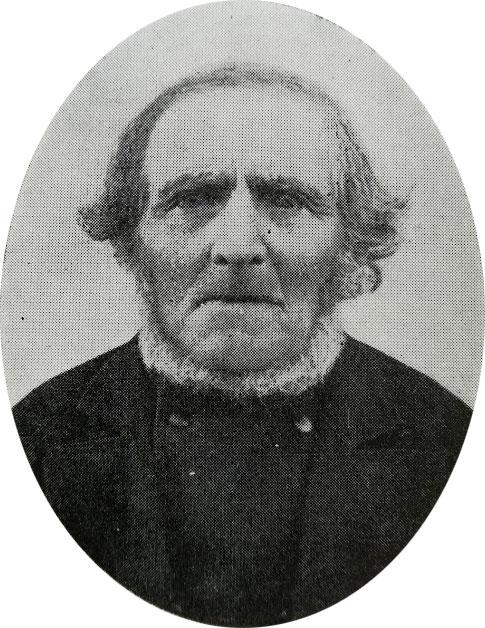 """Fotografiet var endnu i sin spæde start, da Morten drog i krig i 1848. Der findes derfor intet billede af ham. Men her er den to år ældre bror Jakob Jørgensen, som levede indtil 1909."""""""