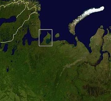 Kaninhalvøen i Hvidehavet